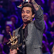 NLD/Hilversum//20170218 - Finale The Voice of Holland 2017, winnende coach Waylon