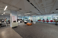 Interior image of Washington DC office building at 1411 K Street by Jeffrey Sauers of CPI Productions