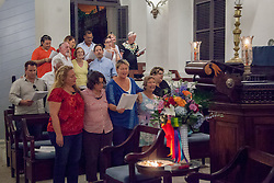 LGBT Pride & Vigil Service in Remembrance of the Victims of the Orlando Massacre with the Hebrew Congregation of the St.Thomas.  17 June 2016.  © Aisha-Zakiya Boyd