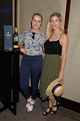 The UK Premier of Johnnie Walker Blue Label's 'Gentleman's Wager' - a short film starring Jude Law was held at The Bulgari Hotel & Residences, 171 Knightsbridge, London on 22nd July 2014.<br /> Picture Shows:-Left to right, LORNA WEIGHTMAN and ASHLEY JAMES.