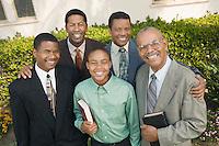 Churchgoing Family