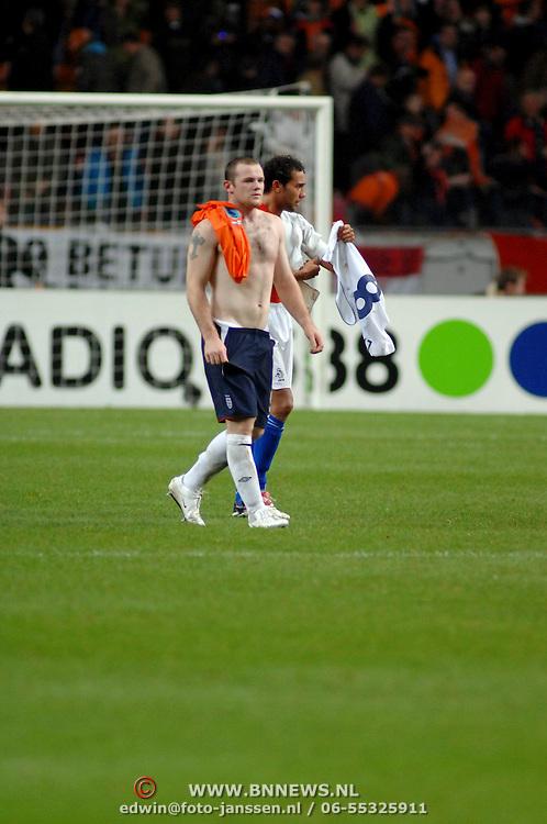 NLD/Amsterdam/20061115 - Voetbal, Nederland - Engeland, Wayne Rooney