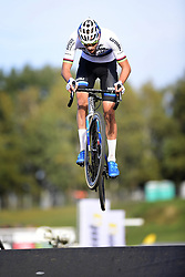 October 20, 2018 - Boom, France - VAN DER POEL Mathieu (NED) of CORENDON - CIRCUS in action during the 2nd leg of the men elite and U23 Telenet Superprestige cyclocross race (Credit Image: © Panoramic via ZUMA Press)