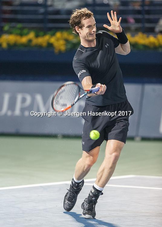 ANDY MURRAY (GBR)<br /> <br /> Tennis - Dubai Duty Free Tennis Championships - ATP -  Dubai Duty Free Tennis Stadium - Dubai -  - United Arab Emirates  - 28 February 2017. <br /> &copy; Juergen Hasenkopf