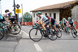 Cecilie Uttrup Ludwig (DEN) on the final climb of the day during Stage 8 of 2019 Giro Rosa Iccrea, a 133.3 km road race from Vittorio Veneto to Maniago, Italy on July 12, 2019. Photo by Sean Robinson/velofocus.com