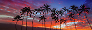 Colorful Hawaiian Sunset