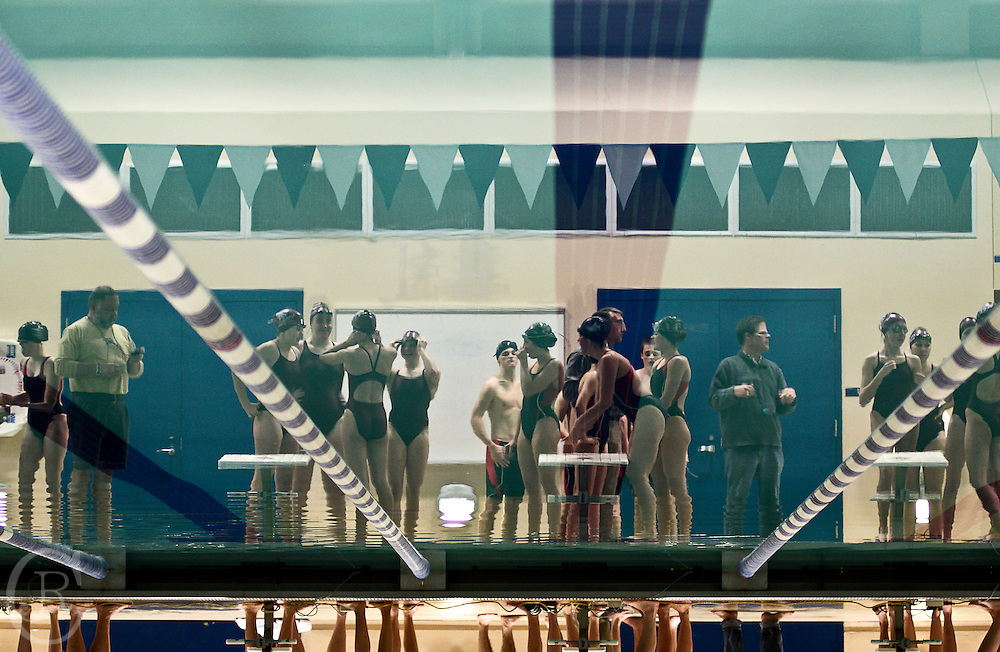The Spartans ready themselves for competition at Simon's Rock Athletic Center, Bard's College Great Barrington, Mass.