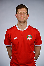 NANNING, CHINA - Saturday, March 24, 2018: Wales' Chris Mepham during a squad photo shoot at the Wanda Realm Hotel on day five of the 2018 Gree China Cup International Football Championship. (Pic by David Rawcliffe/Propaganda)