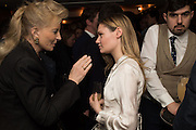 PRINCESS MICHAEL OF KENT; KEELEY WALKER, Spectator Life - 3rd birthday party. Belgraves Hotel, 20 Chesham Place, London, SW1X 8HQ, 31 March 2015