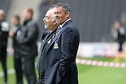 Southend United manager Phil Brown during the EFL Sky Bet League 1 match between Milton Keynes Dons and Southend United at stadium:mk, Milton Keynes, England on 22 October 2016. Photo by Dennis Goodwin.