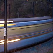 Light Rail Between Natoma Station & Glenn