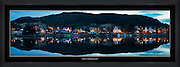 Tatt like før kl 8 om kvelden 3dje mars 2012. 3 bilder som er sett sammen til panorama. | Taken just before 8pm 3rd March 2012. 3 pictures stitched together to panorama.