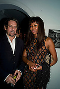 SANTE DE RAZIO; NAOMI CAMPBELL, Party hosted by Franca Sozzani and Remo Ruffini in honour of Bruce Weber to celebrate L'Uomo Vogue The Miami issuel by Bruce Weber. Casa Tua. James Avenue. Miami Beach. 5 December 2008 *** Local Caption *** -DO NOT ARCHIVE-© Copyright Photograph by Dafydd Jones. 248 Clapham Rd. London SW9 0PZ. Tel 0207 820 0771. www.dafjones.com.