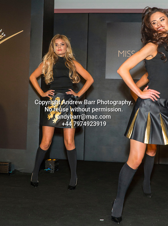 27-08-2015<br /> Miss Scotland 2015 final at Raddison Blu, Glasgow.<br /> <br /> The girls dance routine in kilts opens the show - Megan Fitzpatrick<br /> <br /> Pic:Andy Barr<br /> <br /> www.andybarr.com<br /> <br /> Copyright Andrew Barr Photography.<br /> No reuse without permission.<br /> andybarr@mac.com<br /> +44 7974923919