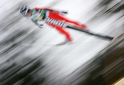 Jumper at Flying Hill Team in 3rd day of 32nd World Cup Competition of FIS World Cup Ski Jumping Final in Planica, Slovenia, on March 21, 2009. (Photo by Vid Ponikvar / Sportida)