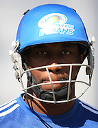 CLT20 - Mumbai Indians Traning Session Kingsmead 13 Sept