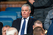 Former Rangers director Paul Murray in the main stand before the Ladbrokes Scottish Premiership match between Rangers FC and Heart of Midlothian FC at Ibrox Park, Glasgow, Scotland on 1 December 2019.