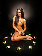 12/09/2011. . Oracle shoot - candles and sage...Model - Emily @ Colours....Pic:Andy Barr.07974 923919  (mobile).andy_snap@mac.com.All pictures copyright Andrew Barr Photography. .Please contact before any syndication. .