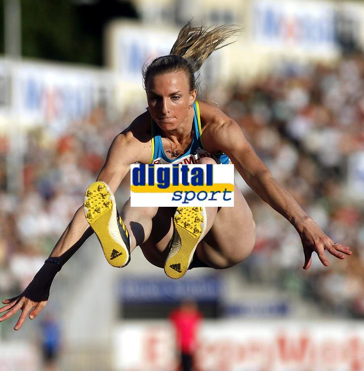 Friidrett, 4. juni 2010,  Diamond League , Bislett Games Oslo<br /> <br /> <br /> Olga Kucherenko , RUS i lengde
