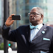 Kansas City Mayor Sly James at KC Streetcar groundbreaking ceremony, May 22, 2014.