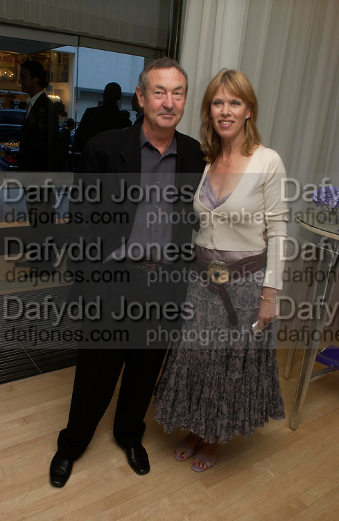 Nick and Nettie Mason. An evening in aid of cancer charity Clic Sargent held at the Sanderson Hotel, Berners Street, London on 4th July 2005ONE TIME USE ONLY - DO NOT ARCHIVE  © Copyright Photograph by Dafydd Jones 66 Stockwell Park Rd. London SW9 0DA Tel 020 7733 0108 www.dafjones.com