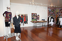 Interior of a fashion boutique
