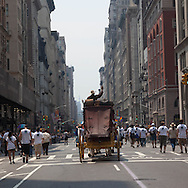 New York. gay pride parade on fifth avenue Usa  LGBT /  la gay pride parade annuelle sur la Cinquieme avenue New York  Usa