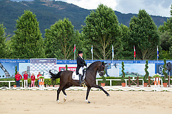Piotrowski Juliette (GER) - Sir Diamond<br /> European Championships Dressage Junior and Young Riders 2014<br /> © Hippo Foto - Leanjo de Koster