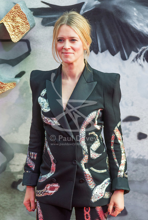 London, May 10th 2017. XX attends the European premiere of King Arthur - Legend of the Sword at the Cineworld Empire in Leicester Square.