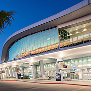 Demattei Wong Architects have created an elegant  addition to the San Diego International Airport