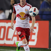 Dax McCarty, New York Red Bulls, in action during the New England Revolution Vs New York Red Bulls, MLS regular season match at Gillette Stadium, Foxborough, Massachusetts, USA. 1st April 2016. Photo Tim Clayton