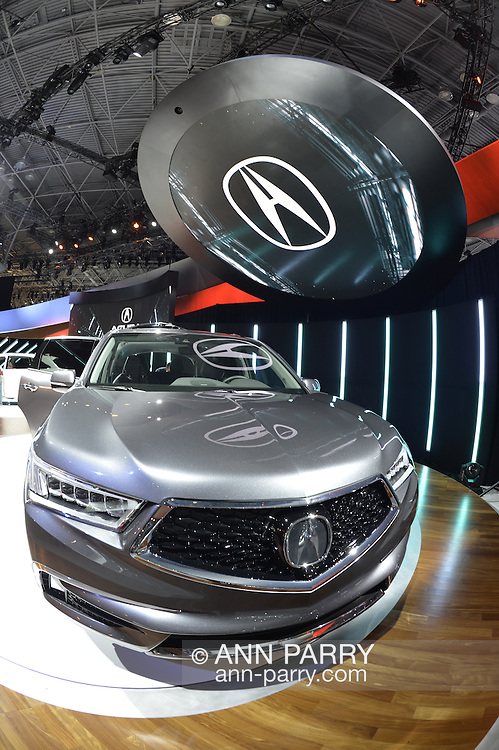 Honda 2017 Acura MDX is unveiled at the New York International Auto Show 2016, at the Jacob Javits Center. This was Press Preview Day one of NYIAS, and the Trade Show will be open to the public for ten days, March 25th through April 3rd.