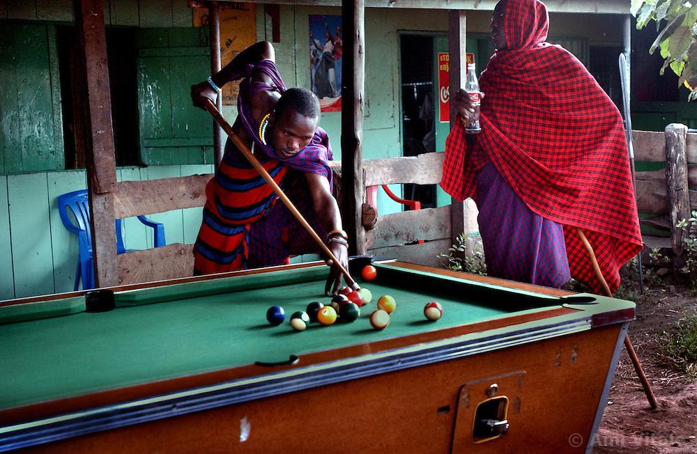 Pastoral community of Masai in Ngorogoro in Tanzania September 29, 2003 (Ami Vitale)