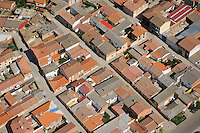 Aerial image<br /> town, Salamanca Region, Castilla y León, Spain