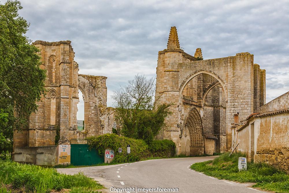 Monasterio de San Anton, Camino to Santiago de Compostela, San Anton Spain