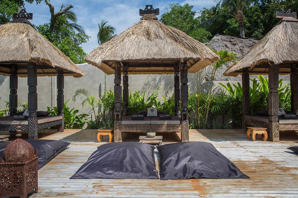 Pool Salas at Karma Beach Resort, a unique resort located on Bophut Beach, Koh Samui, Thailand