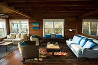 Historic Reed House in Manzanita, Oregon.