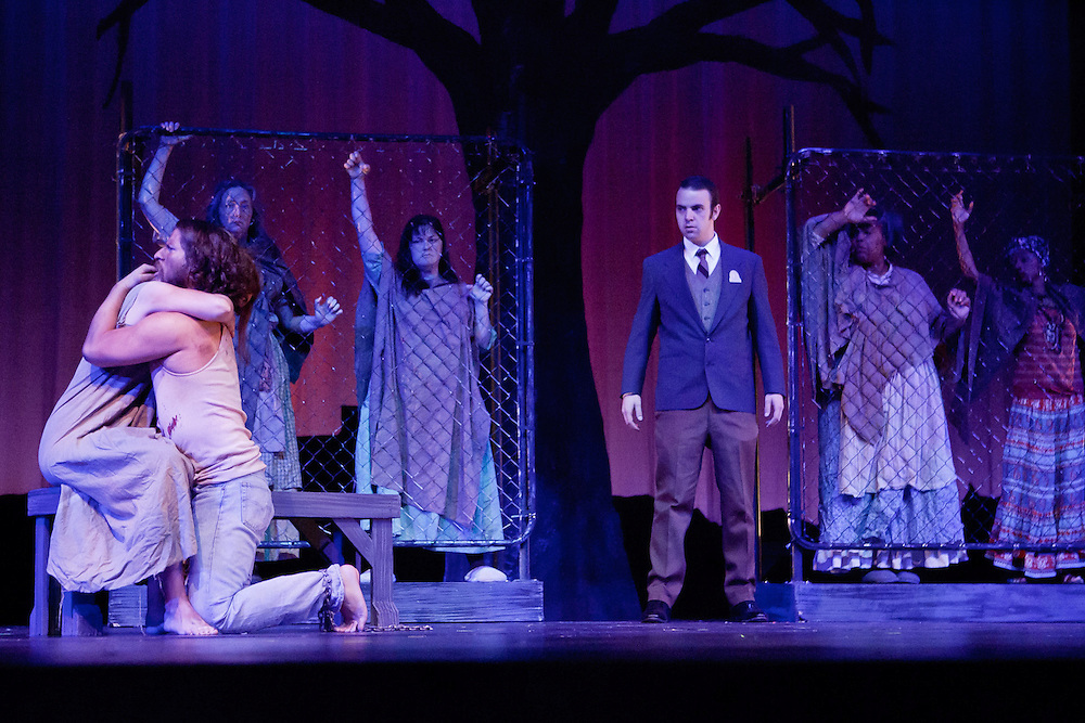 """Solano College Theatre presents """"The Crucible,"""" directed by George Maguire."""