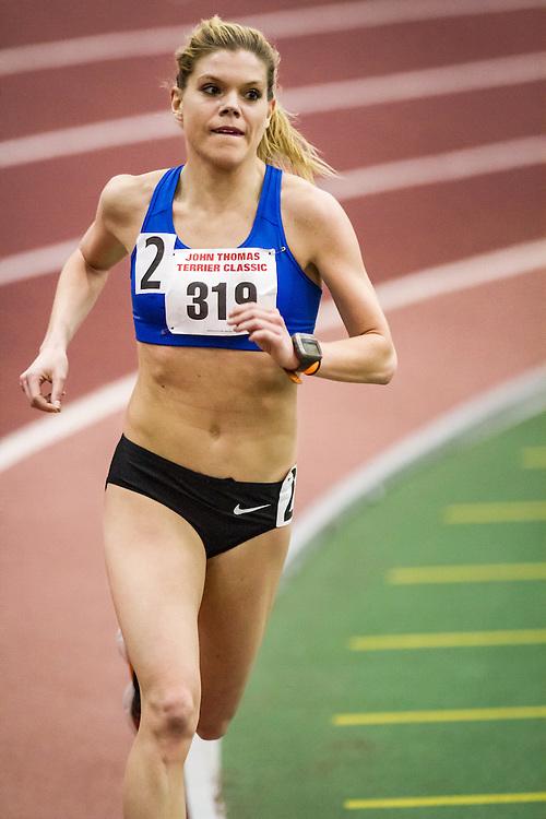 women's 5000, Erica Jesseman, Dirigo, Boston University John Terrier Invitational Indoor Track and Field