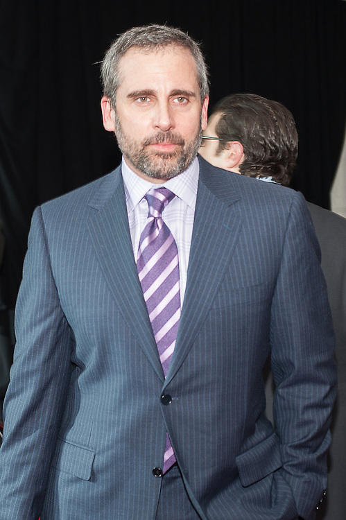 Steve Carell posing at the Mahalia Jackson Theatre NFL Honors in New Orleans, Louisiana on Feb.2 2013.