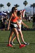 Two Sporty Looks, Coachella 2015 Day 2