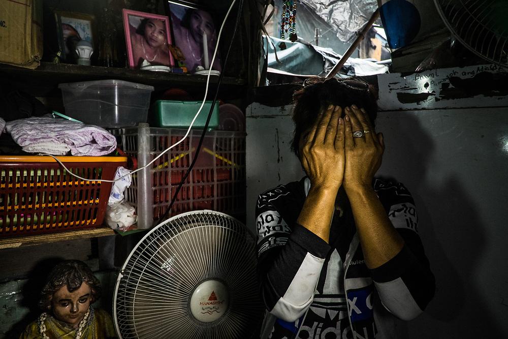 Mother of a victim of an extrajudicial execution.