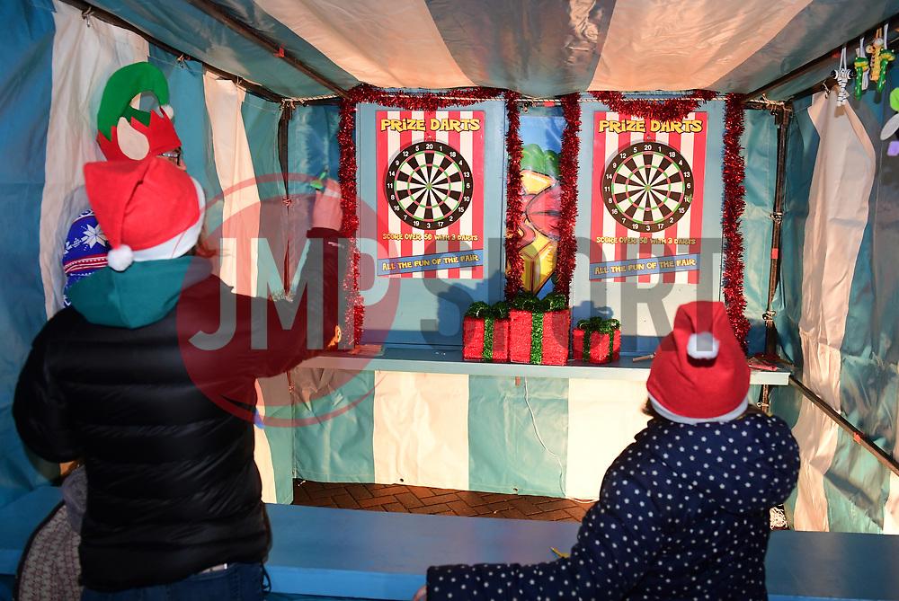 Fans play games - Mandatory by-line: Alex Davidson/JMP - 22/12/2017 - RUGBY - Sixways Stadium - Worcester, England - Worcester Warriors v London Irish - Aviva Premiership