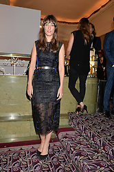 LAURA JACKSON at the WGSN Global Fashion Awards 2015 held at The Park Lane Hotel, Piccadilly, London on 14th May 2015.