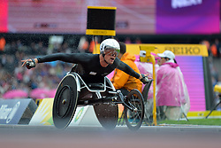 23/07/2017 : Marcel Hug (SUI), T54, Men's 5000m, Final, at the 2017 World Para Athletics Championships, Olympic Stadium, London, United Kingdom
