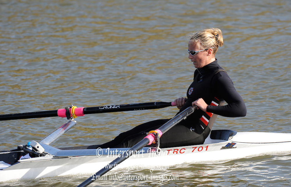 Boston,  GREAT BRITAIN,  Helene  Ratcliff,  British International Rowing Scheme, Feb 2008 Trials,  raced on the River Witham,  09/02/2008 [Mandatory Credit Peter Spurrier/Intersport Images]. ,Rowing Course: River Witham, Boston, Lincs, Great ENGLAND