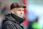 Exeter City manager Paul Tisdale during the Sky Bet League 2 match between Exeter City and Accrington Stanley at St James' Park, Exeter, England on 23 January 2016. Photo by Graham Hunt.