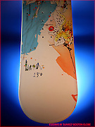 16SNOWBOARDONLINE 3 OF 12 CAPTION:  K2 Luna women's snowboard.  $380.00  K2snowboards.com Wider at the nose than at the tail, the women-specific Luna floats up  easily in powder to keep your back quadriceps from burning after a long  day.  Designed for general-purpose riding, the Luna comes in five sizes   from 138 to 154 without the girly graphics that plague some women's  boards.   CREDIT:  Essdras Suarez/Globe Staff,  items courtesy Ski Market  Boston, Ma  110206   Snow board gear:women's snowboard. (Suarez,Essdras M/ Globe staff)/ Living K2 Luna women's snowboard.  $380.00  K2snowboards.com Wider at the nose than at the tail, the women-specific Luna floats up  easily in powder to keep your back quadriceps from burning after a long  day.  Designed for general-purpose riding, the Luna comes in five sizes   from 138 to 154 without the girly graphics that plague some women's  boards.       Library Tag 11162006 Style & Arts