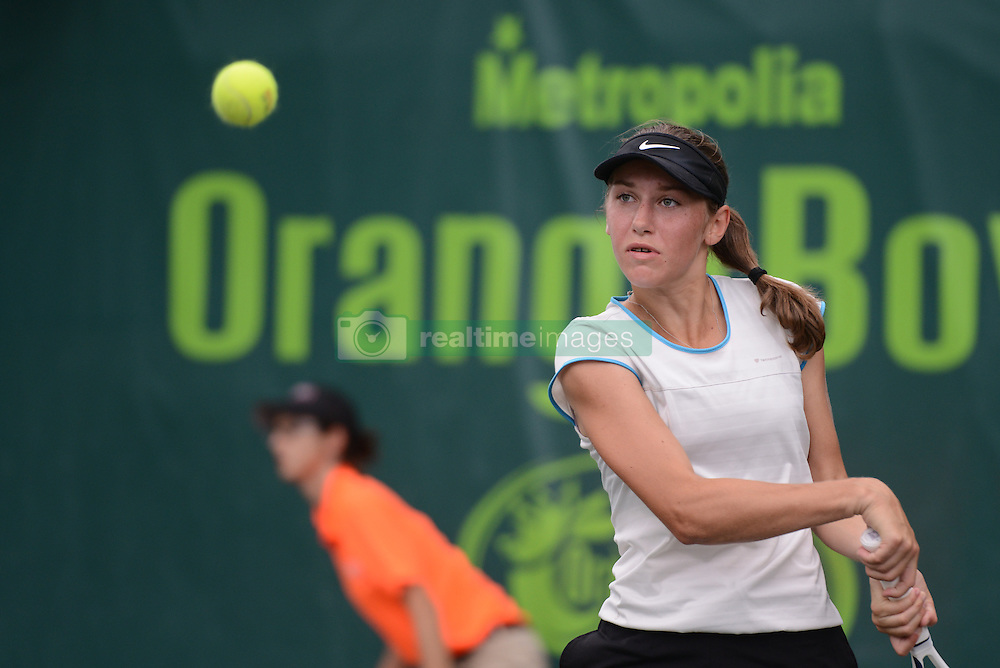 December 11, 2016 - Plantation, Florida, United States - KAJA JUVAN of Slovenia in the final in the Metropolia Orange Bowl International Tennis Championship in Plantation Florida (Credit Image: © Christopher Levy via ZUMA Wire)