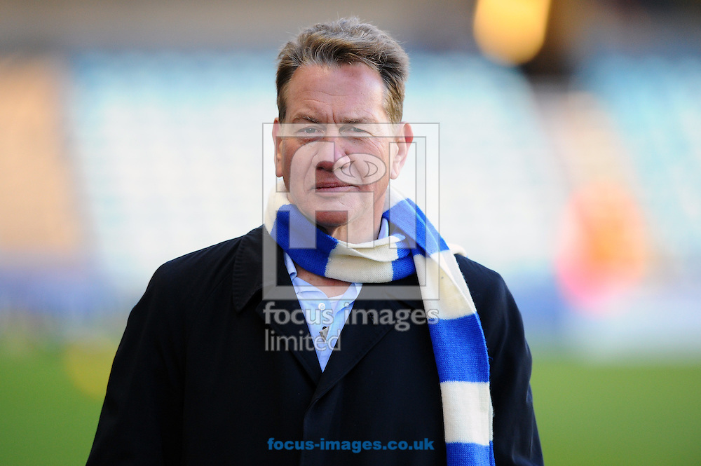 Michael Portillo attends the Sky Bet Championship match at The Den, London<br /> Picture by Seb Daly/Focus Images Ltd +447738 614630<br /> 17/01/2015